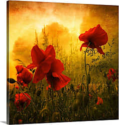 Great Big Canvas Red for Love Canvas Wall Art - PAG0100593_24_16X16_NONE