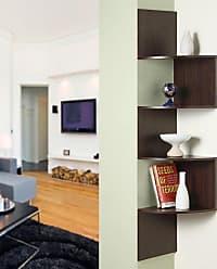 4D Concepts Hanging Corner Storage - Chocolate - 99300