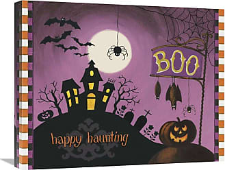 Global Gallery Happy Haunting Boo Canvas Wall Art - GCS-469915-1620-142