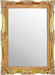 Large Silver Ornate Antique Design Big Wall Mirror 4Ft6 X 2Ft6 137cm X 76cm