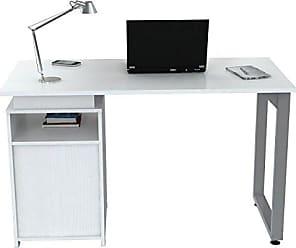 Inval America ES-7803 Laricina-White Writing Desk