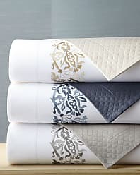 SFERRA Full/Queen Plumes Embroidered Duvet Cover