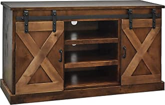 Legends Furniture 56 Aged Whiskey Farmhouse TV Console