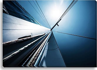 Gallery Direct Clear Blue Sailing Indoor/Outdoor Canvas Print, Size: Medium - NE73312