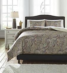 VCNY Home Palila Duvet Set 3 Piece - Beige - Size: Queen