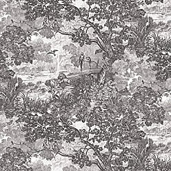 York Wallcoverings RoomMates Jungle Toile Peel and Stick Wallpaper