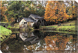 West of the Wind Old Mill Canvas Outdoor Art - OU-79120