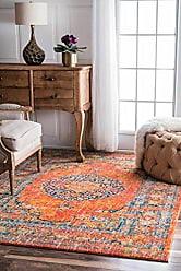 nuLOOM Persian Vintage Olivia Rug, 8 x 10, Orange