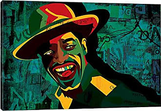 iCanvas Andre 3000 Canvas Print by Dai Chris Art, 26 x 18