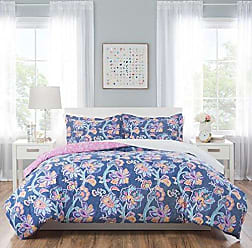 Home Dynamix Nicole Miller 5PC Comforter Sets Twin, Blue/Pink