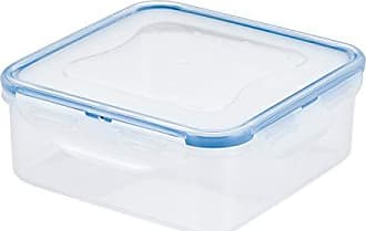 Clear//Blue 1.1 L plastica Lock /& Lock/-/Contenitore per Alimenti Rettangolare capienza: 1,1 Litri Impermeabile Piccolo