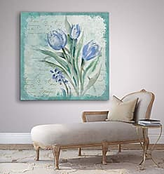 WEXFORD HOME Tulip Medley - Premium Gallery Wrapped Canvas Art Print, 24x24