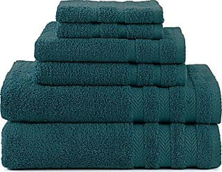 Westpoint Home Martex Egyptian with DryFast 6 Piece Towel Set, Dark Aqua