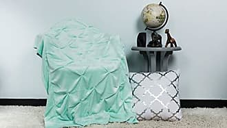 Duck River Textile Lala + Bash Oona Ulta Plush Soft & Warm Sherpa Throw Blanket, 50 x 60, Sea Foam Blue