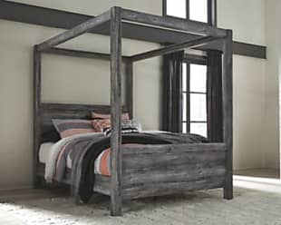 Ashley Furniture Baystorm Queen Poster Bed, Gray