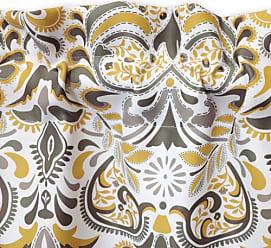 Lush Décor Clara Room Darkening Valance Single - Gray - Size:52x18+2 Header Lush Decor