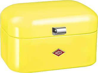 WESCO Single Grandy Bread Box - Lemon Yellow