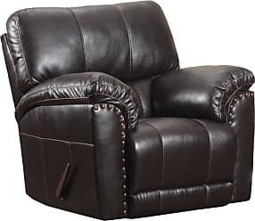 United Furniture Simmons Upholstery Abilene Swivel Glider Recliner - 50961BR-16 ABILENE CHESTNUT