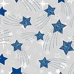 Lar Adesivos Papel de Parede Infantil Estrelas Adesivo Lavável N4157