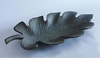 Orlandi Statuary Orlandi Palm Leaf Plate Outdoor Decoration - FS9135