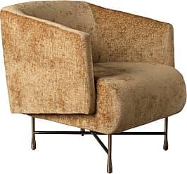 Kelly Wearstler Bijoux Lounge Chair In Pascal Ochre