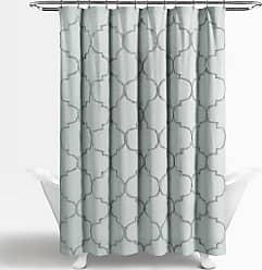 Lush Décor Avon Chenille Cotton Shower Curtain Pastel Blue - 16T003880