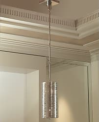 Global Views 9.91810 2 Light Pendant Polished Nickel Indoor Lighting