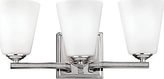 Feiss Pave 3-Light Bath Vanity in Polished Nickel