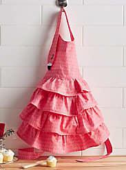 Danica Studio Pink flamingo childrens apron