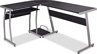 Costway Large L-Shaped Wood PC Desk
