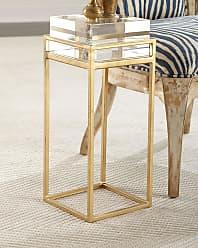 John-Richard Carlyle Glass Block Side Table
