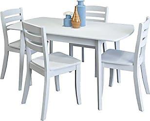 CorLiving DSH-610-Z1 Dillon Dining Set White