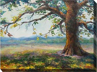 West of the Wind My Oak Tree Wall Art - 40W x 30H in. - OU-79257