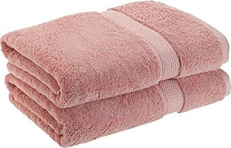 Home City Inc. Superior 900 GSM Luxury Bathroom Towels, Made Long-Staple Combed Cotton, Set of 2 Hotel & Spa Quality Bath Towels - Tea Rose, 30 x 55 Each