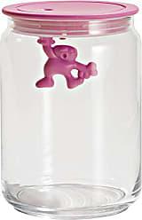 Alessi A di Alessi Gianni 3-3/4-Cup Glass Jar, Pink