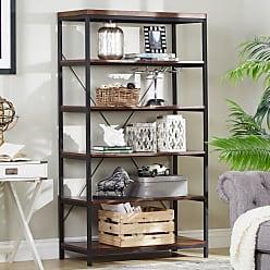 Weston Home Decorative Bookcase - Brown - E321-12L(3A)