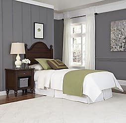 Home Styles Country Comfort Aged Bourbon Twin Headboard and Night Stand by Home Styles