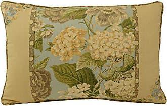 Ellery Homestyles WAVERLY Garden Glory Decorative Pillow, 20x14, Mist