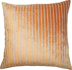 The Pillow Collection Maaike Striped Bedding Sham Melon King/20 x 36