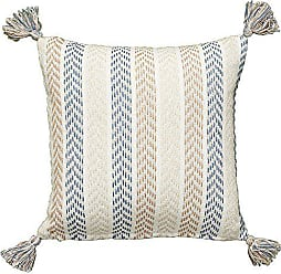 L.R. Resources Inc. Altair Oceanside Throw Pillow, 18 x 18, Blue/Brown
