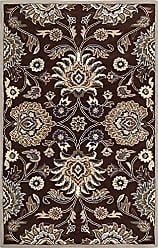 Surya CAE1063-58 Floral Traditional Area Rug, 5 x 8, Brown