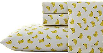 Revman International Nine Palms Banana Sheet Set, King, Bright Yellow