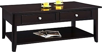 Winners Only Metro 2 Drawer Coffee Table - Espresso - AM100C