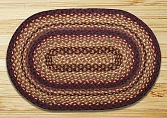 Earth Rugs 06-371 Rug, 4 x 6, Black Cherry/Chocolate/Cream