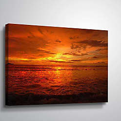 Brushstone Pause by Scott Medwetz Gallery Wrapped Canvas, Size: 36x54 - 0MED874C3654W