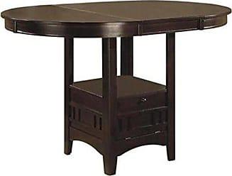 Coaster Lavon Counter Height Table Espresso