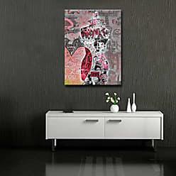Ready2HangArt Ready2hangart Urban Fashion I Canvas Art, 20 H x 16 W, Pink