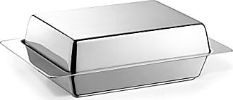Zack 20842 Collo Butter Dish, 6.3 by 4.13-Inch, Glossy