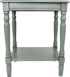 Decor Therapy FR1576 Simplify End Table, Fits Most Casual Décor, Blue Gray