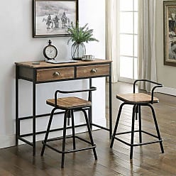 4D Concepts Urban Loft Breakfast Table with Stools - 162005